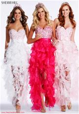 Sherri Hill 2415.  Available in Aqua, Black, Fuchsia, Light Pink, Red, White, Yellow